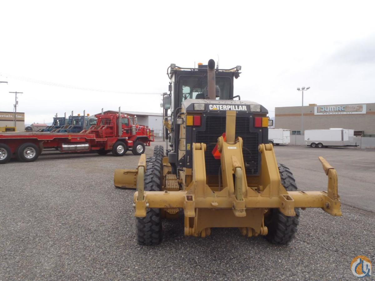 2009 CATERPILLAR 140M AWD Motor Graders CATERPILLAR 140M AWD Equipment Sales Inc. 18190 on CraneNetwork.com